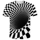 NEWISTAR Jungen 3D Druck Sommer T Shirts Kurzarm T-Shirts Top Tees