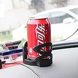 YUAN Portabiciclette Portabevande Supporto per ventosa Porta bibite Acqua Tazza di caffè Inserto per tazza con dimensioni di regolazione per portabicchieri