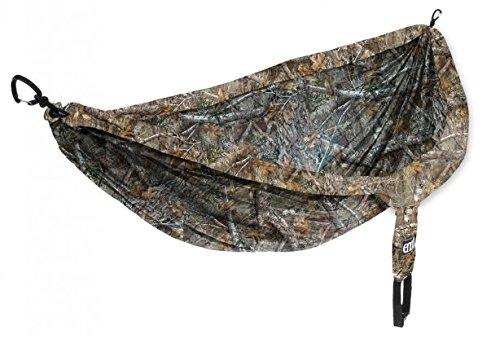 Eagles Nest Outfitters ENO DoubleNest Camo Tragbare Hängematte für Zwei, Realtree Edge