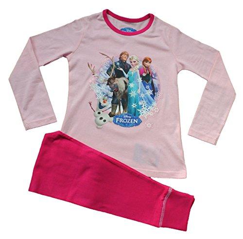 Pink Disney Frozen Pyjamas 3 to 10 Years Olaf Sven Anna Pyjamas Elsa Pyjamas