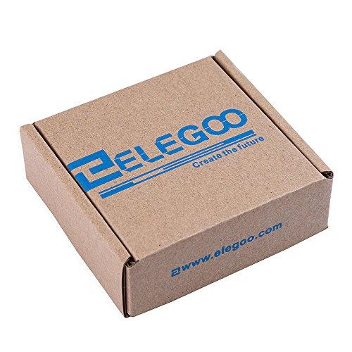 51bGDyfMRDL - Elegoo UNO R3 Pantalla Táctil TFT de 2,8 Pulgadas con Tarjeta SD con Todos Los Datos Técnicos en CD para Arduino UNO R3