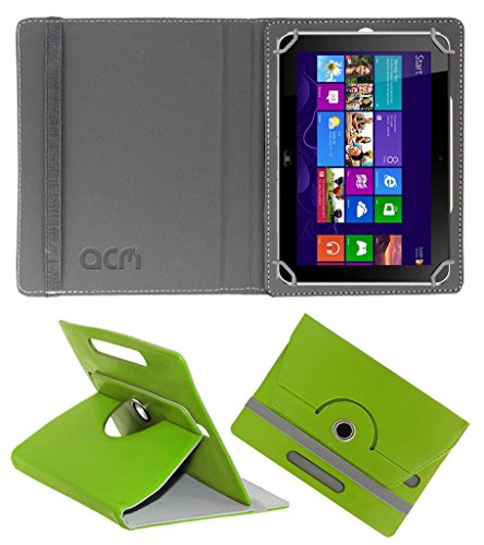 Acm Rotating 360° Leather Flip Case for Hp Elite Pad 900 G1 Cover Stand Green  available at amazon for Rs.189
