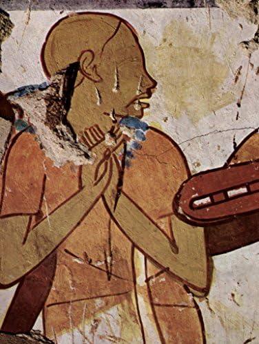Lais Puzzle Peintre de de de la Chambre funéraire de Horemheb - Chambre funéraire de Horemheb, scène: Chanteur Aveugle 1000 Pieces 020e30