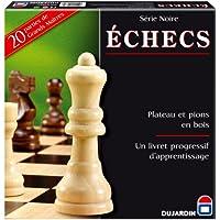 Dujardin 55331 - Jeu de Société - Grand Classique - Série Noire Echecs Plateau