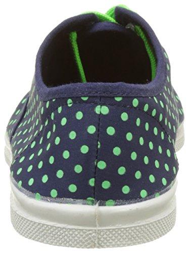 Bensimon - Tennis Minipois Lacet, Basse Donna Vert (vert)