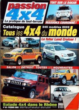 passion-4x4-no-85-du-01-02-2002-tout-sur-le-dakar-masuoka-couronnee-catalogue-245-modeles-2002-land-
