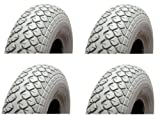 Mobility Scooter Pneumatic Tyres - 400-5 - Pack of 2 Mobility Scooter Tyres.