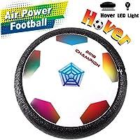 [Dernière Version] Air Hover Football Enfants Soccer Jouet Ballon avec Lumière LED et Musique Sport Jouer Intérieur Cadeau d'anniversaire/de Fête/de Noël