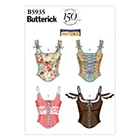 Butterick Ladies Easy Sewing Pattern 5935 - Corsets