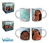 1 Mug Taza cerámica Disney Vaiana Moana 237 ml caja regalo desayuno niños