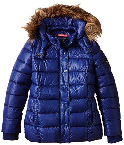 Kaporal - EMINK, Cappotto per bambine e ragazze, blu (trublu), 14 anni (Taglia produttore: 14 anni)