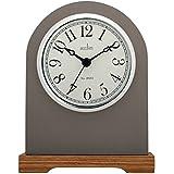Acctim Aston Mantel Clock, Plastic, Brown