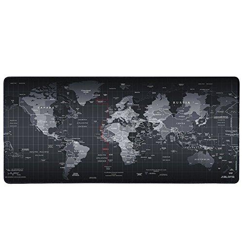 Eligoo tappetini per il mouse gaming mouse pad xxl 900x400mm tappetino scrivania impermeabile resistente all'acqua con retro di gomma antiscivolo superficie di strutturato speciale supporto per computer, pc e laptop