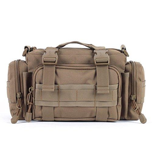 Sincere® Forfait / ventilateurs Sacs à dos / Armée Portable / Ultralight de camping super-homme sac de patrouille / sac à bandoulière Équipement pour l'extérieur jaune 20L