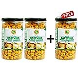 #7: Sattviko Buy Two Get One Free Offer - Pudina Makhana Lite Snacks Pet Jar (75gm)
