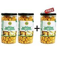 Sattviko Buy Two Get One Free Offer - Pudina Makhana Lite Snacks Pet Jar (75gm)