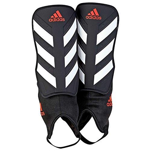 adidas Erwachsene Everclub Schienbeinschoner, Black/White/Solar Red, L