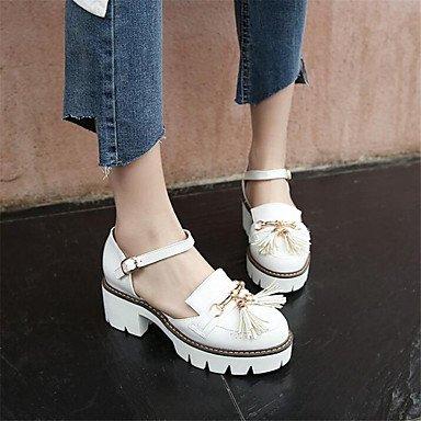RTRY Donna Sneakers Comfort Pu Molla Canvas Informale Comfort Piatto Bianco US8.5 / EU39 / UK6.5 / CN40