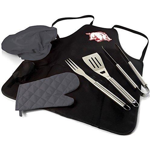 ncaa-arkansas-razorbacks-bbq-apron-tote-pro-by-picnic-time