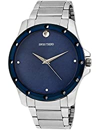 Swiss Trend Analogue Robust Blue Dial Men's Watch - OLST2244
