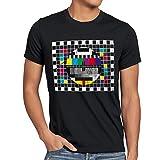 style3 Testbild Herren T-Shirt sheldon, T-Shirt Hauptfarbe:Schwarz;Größe:L