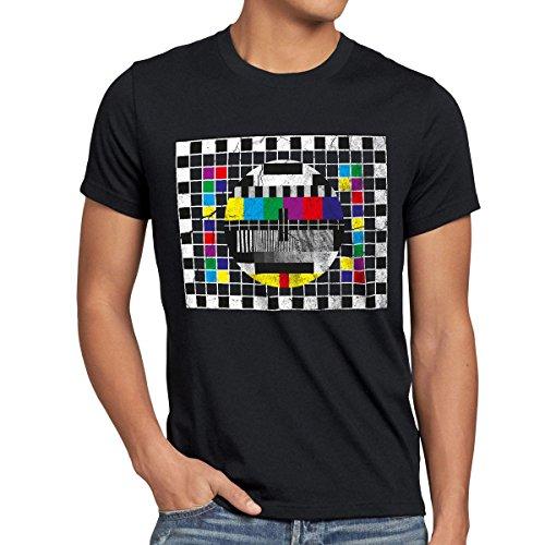 style3 Testbild Herren T-Shirt sheldon, T-Shirt Hauptfarbe:Schwarz;Größe:XL Amp-tv
