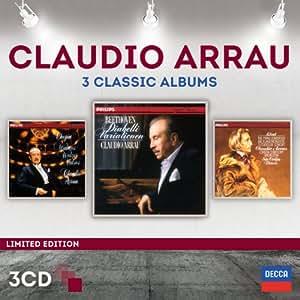 Claudio Arrau-3 Classic Albums (Limited Edition)