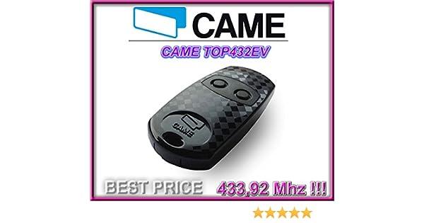 3 St/ücke f/ür den besten Preis!!! 4-kanal 433,92Mhz fixed code 3 X CAME TOP432SA kompatibel handsender Top Qualit/ät Kopierger/ät!! klone fernbedienungen