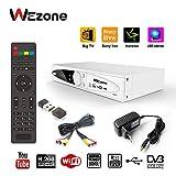 #2: Wezone DVB-S2 Set Top Box Satellite TV Receiver 1080 HD Support PVR and Playback Via USB, Internet, SIM GPRS