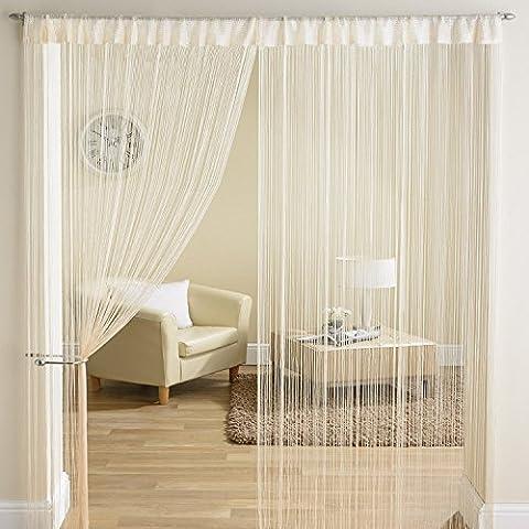 Ayg Glitter String tenda pannelli nappa divisorio Tende (Confezione da