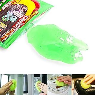 tioodre Multifunktions Weiche Sticky Klebstoff Gum Gel Reinigung Auto Innen Auslass Tastatur Staub Reiniger Mikrofaser Schwamm Gel