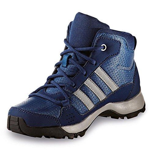 adidas Hyperhiker K, Chaussures montantes pour Garçon core blue s17/clear onix/mystery blue s17