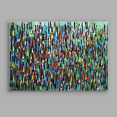 WSJ Impressionismus Moderne abstrakte Farbe Stücke F gespannt bereit, bunte Kunst Leinwand zu hängen , include inner frame , 16