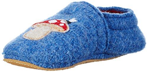Giesswein Baby Jungen Baiern Lauflernschuhe Blau (547 capriblau)