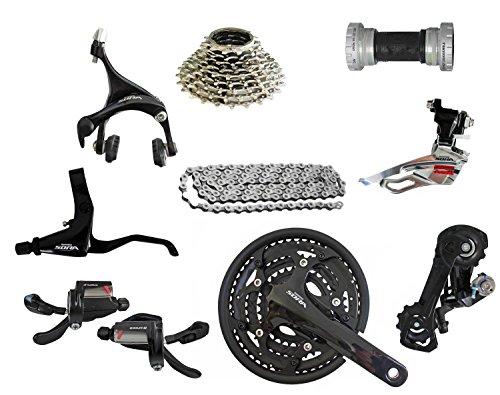 Shimano Sora MTB Schaltgruppe Antriebsset Kurbelgarnitur Schaltung Bremse (Rennrad Schalthebel Bremse)