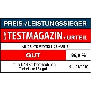 Krups 207269 Cafeti 232 Re Electrique F30908 Amazon Fr