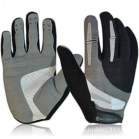 Recoco Ciclismo Guanti ciclismo pieno Finger Gloves equitazione guanti moto