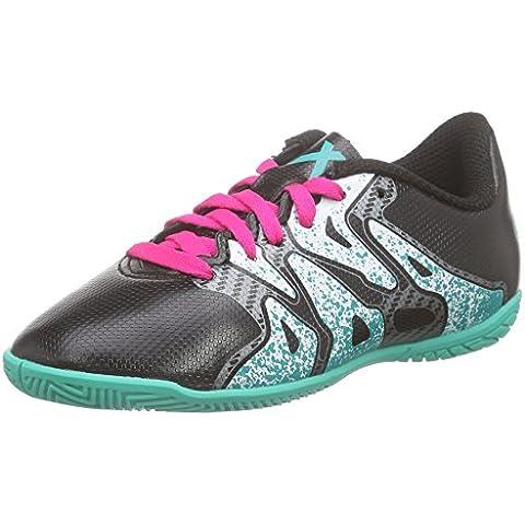 adidasX 15.4 In - Zapatillas de Fútbol Entrenamiento  Niños-Niñas
