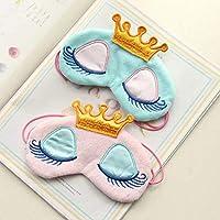 Crown Schlafmaske, schöne Prinzessinnen-Wimpern, Schlafende Schönheit, reine Baumwolle, atmungsaktiv, Schlafmaske... preisvergleich bei billige-tabletten.eu