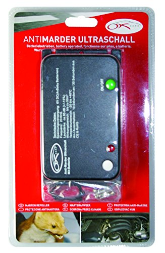Preisvergleich Produktbild OK Cars AZ-KFZ-207 Anti-Marder Ultraschall, Batterie