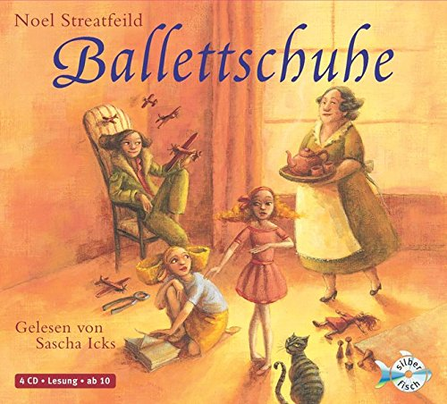 Preisvergleich Produktbild Ballettschuhe: 4 CDs