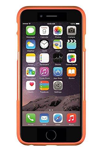 Coque iPhone 6 Plus, (Noir) SaharaCase® + [film protecteur ZeroDamage en verre trempé] kit de protection accompagné d'un et d'une protection de saisie antidérapante [antichocs] avec une coupe ajustée Orange, Bleu
