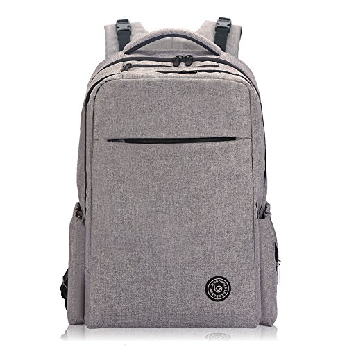 lekebaby-unisex-nappy-backpack-with-changing-mat-baby-changing-bag-for-mums-and-dadsgrey