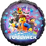 Lego Movie 2 Foil Let's Build Together, mehrfarbig, 002663539041 - Lego Movie 2