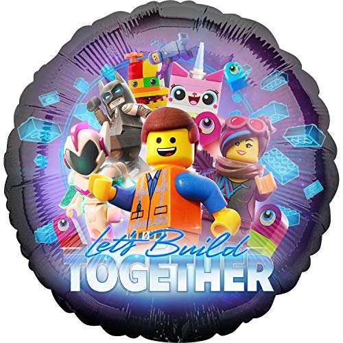 Lego Movie 2 Foil Let's Build Together, mehrfarbig, 002663539041