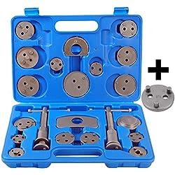 23 tlg (22 tlg + 1 Kiste) Bremskolbenrücksteller Satz Bremskolben Rücksteller KFZ Werkzeug