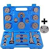 22 tlg Bremskolbenrücksteller Satz Bremskolben Rücksteller KFZ Werkzeug mit Nue VAG 3 Pin Adaptor