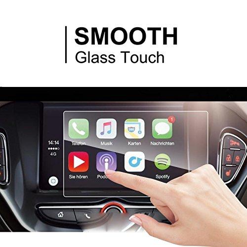 LFOTPP Opel Adam 7 Pollici Navigazione Pellicola Protettiva in Vetro Temperato Screen Protector Film - 9H Antigraffio HD Alta Trasparente Glass