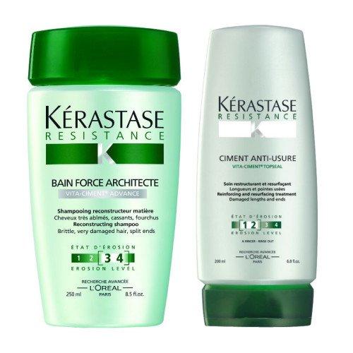 Item Name (aka Title): Kérastase Bain Force Architecte und Ciment anti-usure (Shampoo...