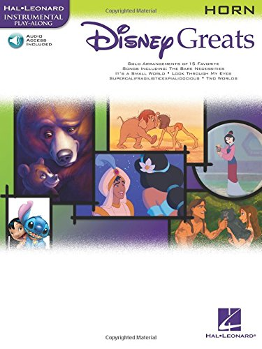 Disney Greats Horn Book/Cd Playalong: Noten, CD für Horn (Disney Greats S)